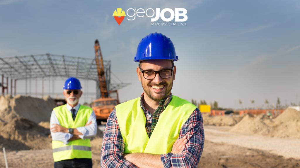 selezione del personale edile e costruzioni, geoJOB